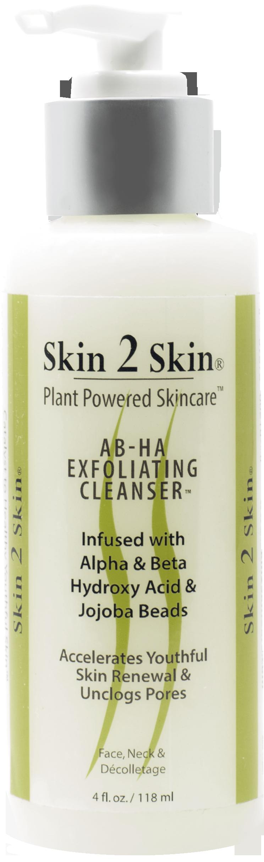 Skin 2 Skin AB-HA Exfoliating Cleanser